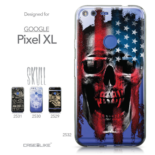 Google Pixel XL case Art of Skull 2532 Collection | CASEiLIKE.com