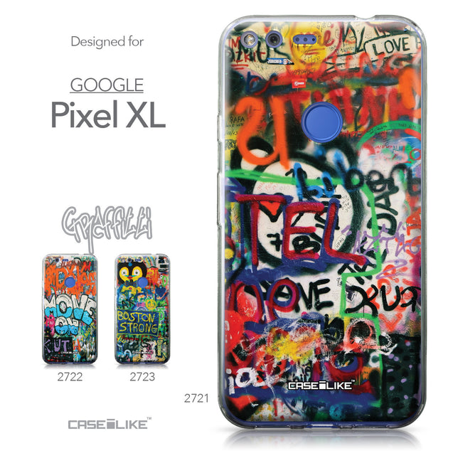 Google Pixel XL case Graffiti 2721 Collection | CASEiLIKE.com