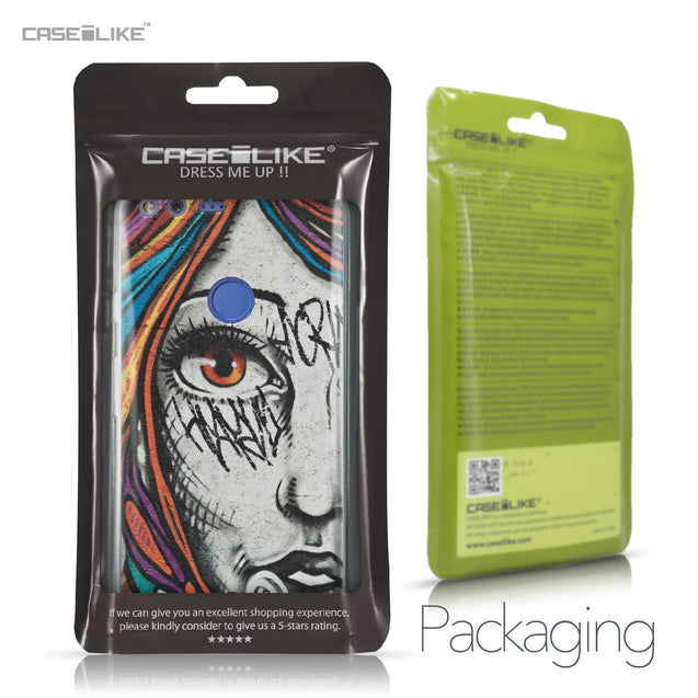 Google Pixel XL case Graffiti Girl 2724 Retail Packaging | CASEiLIKE.com