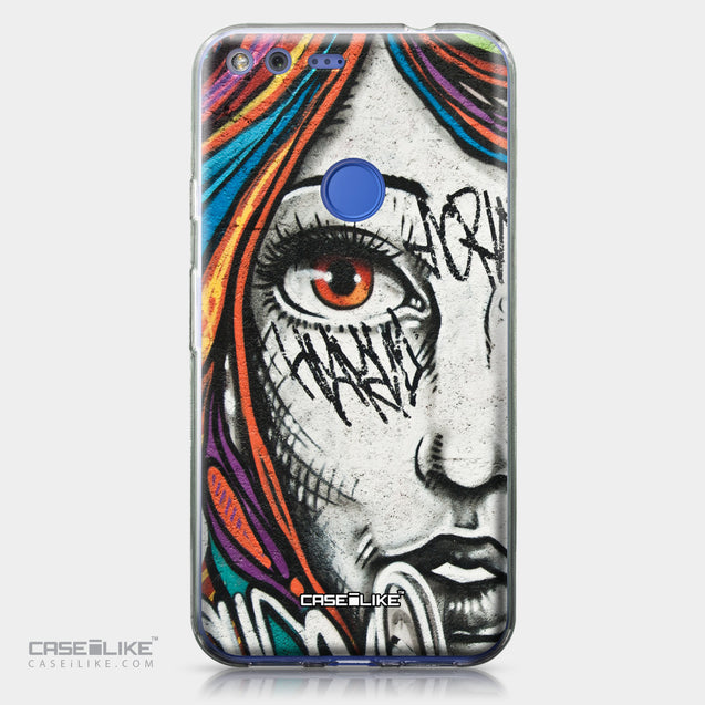 Google Pixel XL case Graffiti Girl 2724 | CASEiLIKE.com