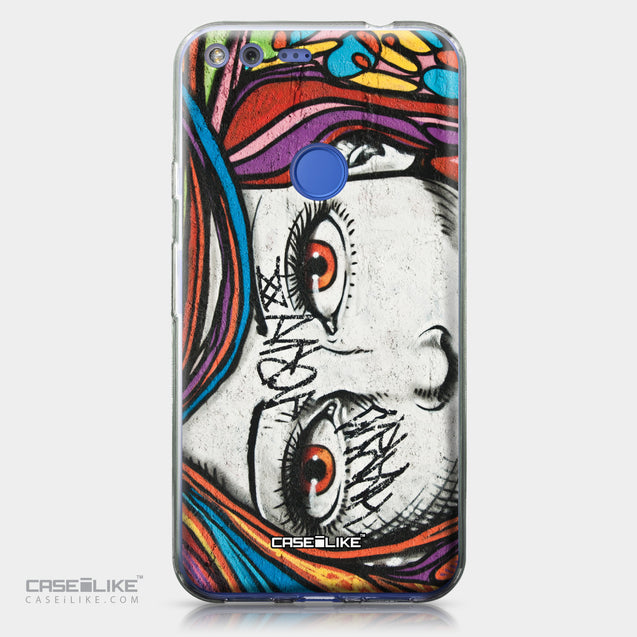 Google Pixel XL case Graffiti Girl 2725 | CASEiLIKE.com
