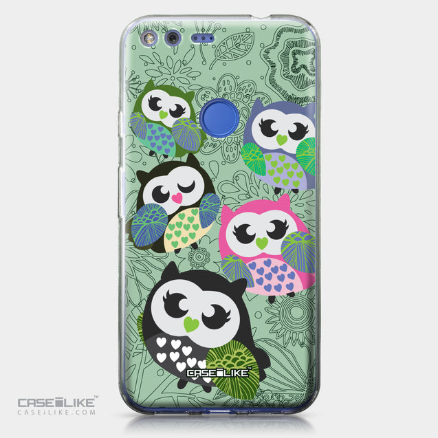 Google Pixel XL case Owl Graphic Design 3313 | CASEiLIKE.com