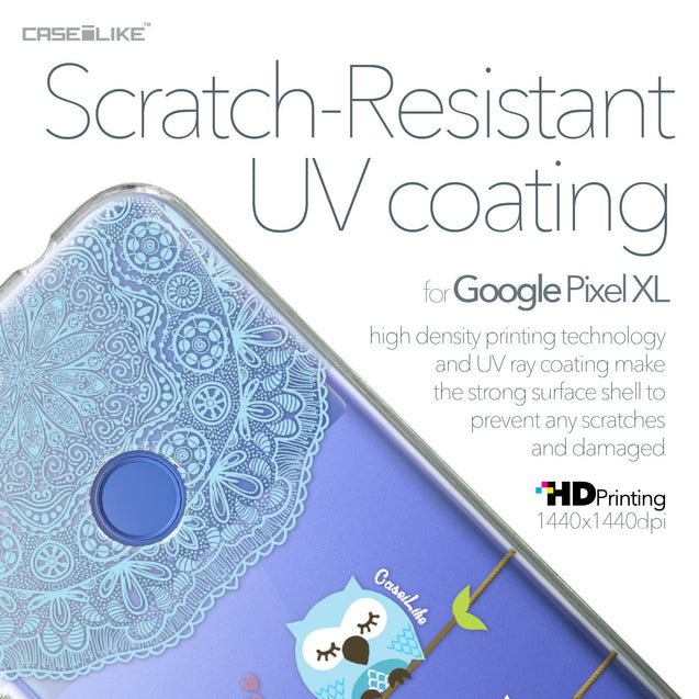 Google Pixel XL case Owl Graphic Design 3318 with UV-Coating Scratch-Resistant Case | CASEiLIKE.com