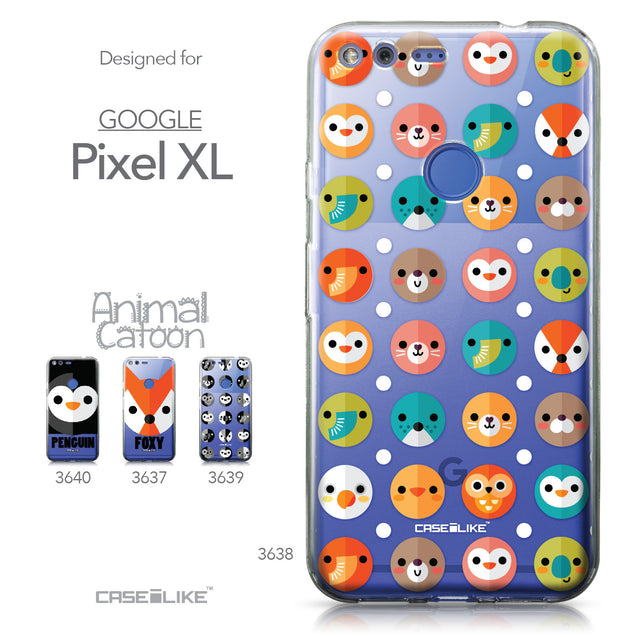 Google Pixel XL case Animal Cartoon 3638 Collection | CASEiLIKE.com