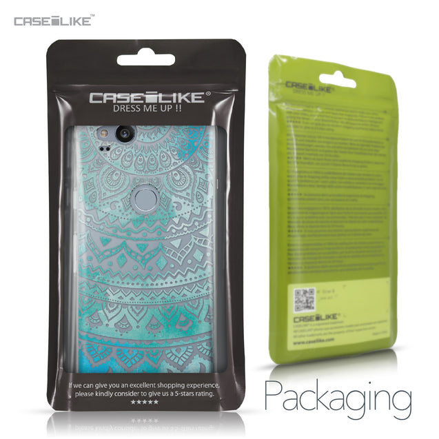 Google Pixel 2 case Indian Line Art 2066 Retail Packaging | CASEiLIKE.com