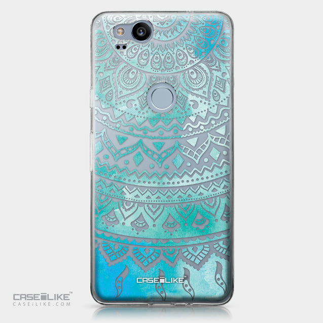 Google Pixel 2 case Indian Line Art 2066 | CASEiLIKE.com