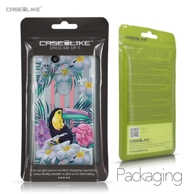 Google Pixel 2 case Tropical Floral 2240 Retail Packaging | CASEiLIKE.com