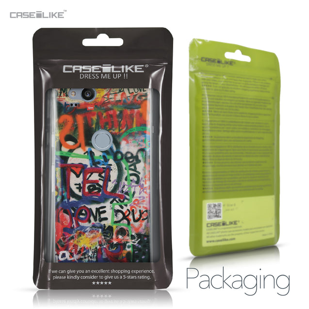Google Pixel 2 case Graffiti 2721 Retail Packaging | CASEiLIKE.com
