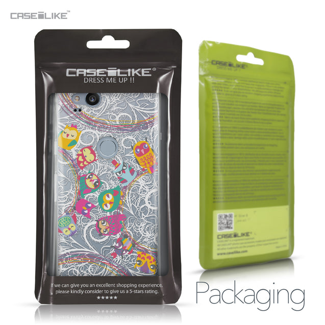 Google Pixel 2 case Owl Graphic Design 3316 Retail Packaging | CASEiLIKE.com
