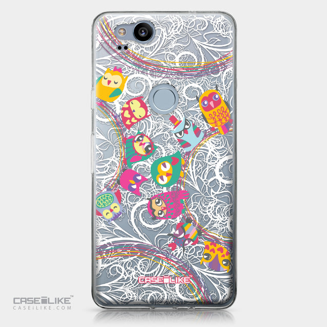 Google Pixel 2 case Owl Graphic Design 3316 | CASEiLIKE.com