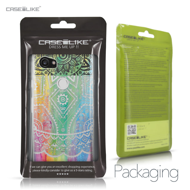 Google Pixel 2 XL case Indian Line Art 2064 Retail Packaging | CASEiLIKE.com