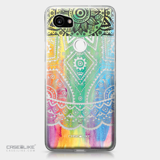 Google Pixel 2 XL case Indian Line Art 2064 | CASEiLIKE.com