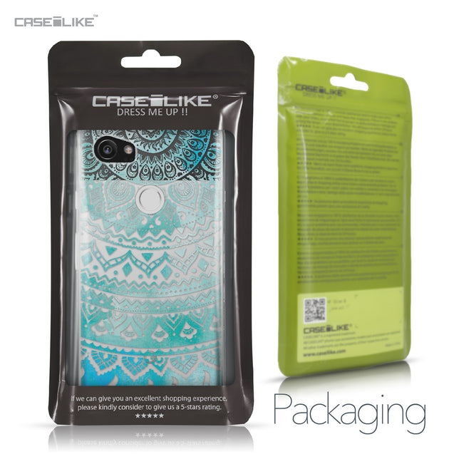 Google Pixel 2 XL case Indian Line Art 2066 Retail Packaging | CASEiLIKE.com