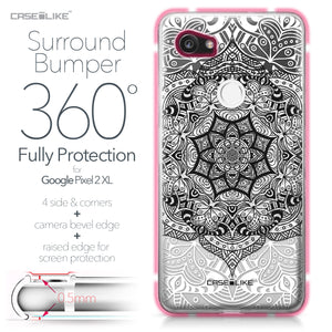 Google Pixel 2 XL case Mandala Art 2097 Bumper Case Protection | CASEiLIKE.com