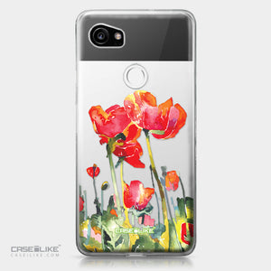 Google Pixel 2 XL case Watercolor Floral 2230 | CASEiLIKE.com