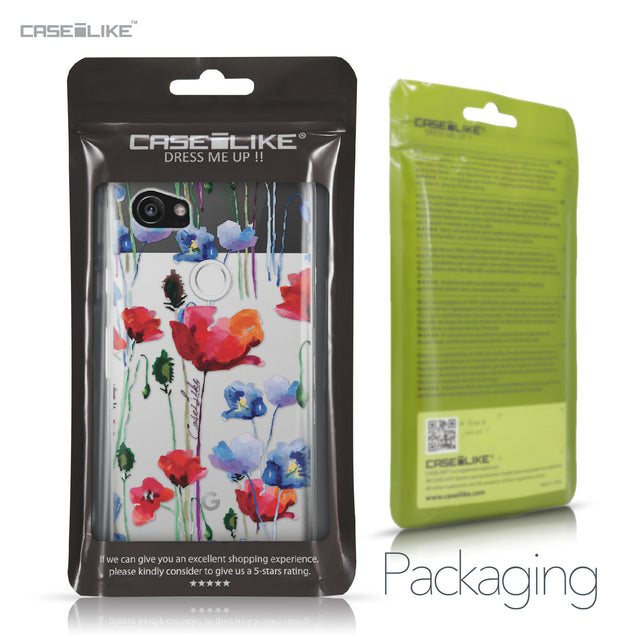Google Pixel 2 XL case Watercolor Floral 2234 Retail Packaging | CASEiLIKE.com