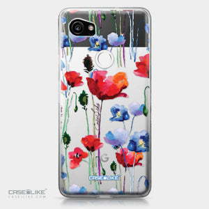 Google Pixel 2 XL case Watercolor Floral 2234 | CASEiLIKE.com