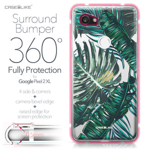 Google Pixel 2 XL case Tropical Palm Tree 2238 Bumper Case Protection | CASEiLIKE.com