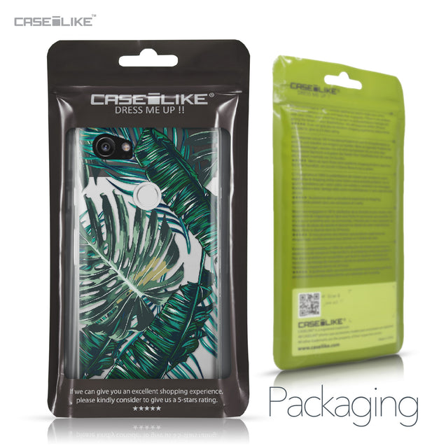 Google Pixel 2 XL case Tropical Palm Tree 2238 Retail Packaging | CASEiLIKE.com