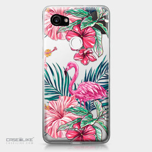 Google Pixel 2 XL case Tropical Flamingo 2239 | CASEiLIKE.com