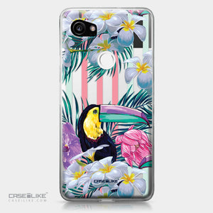 Google Pixel 2 XL case Tropical Floral 2240 | CASEiLIKE.com