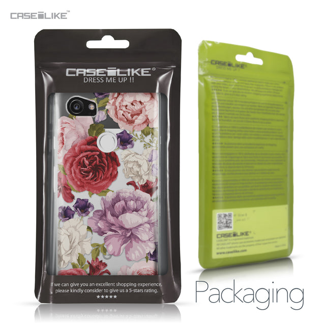 Google Pixel 2 XL case Mixed Roses 2259 Retail Packaging | CASEiLIKE.com