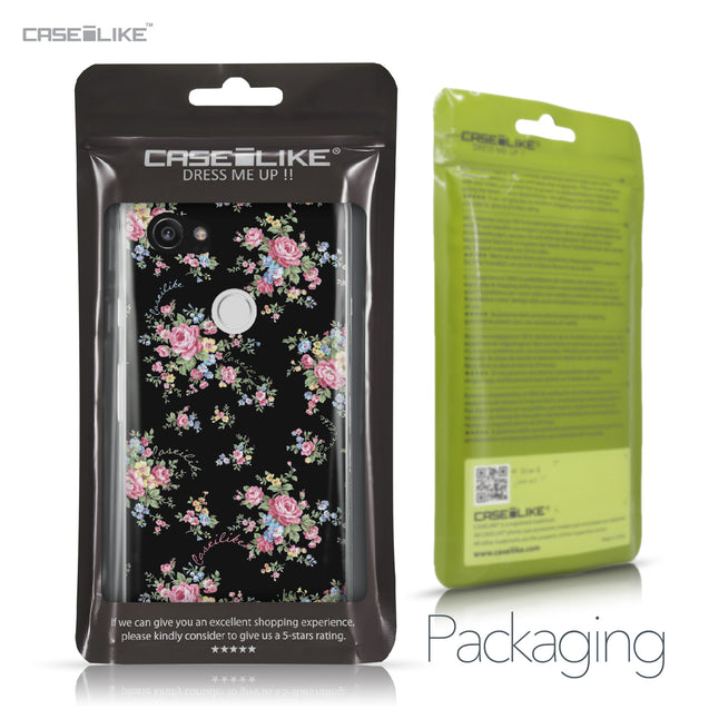 Google Pixel 2 XL case Floral Rose Classic 2261 Retail Packaging | CASEiLIKE.com