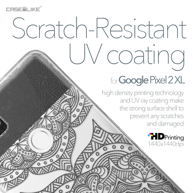 Google Pixel 2 XL case Mandala Art 2304 with UV-Coating Scratch-Resistant Case | CASEiLIKE.com
