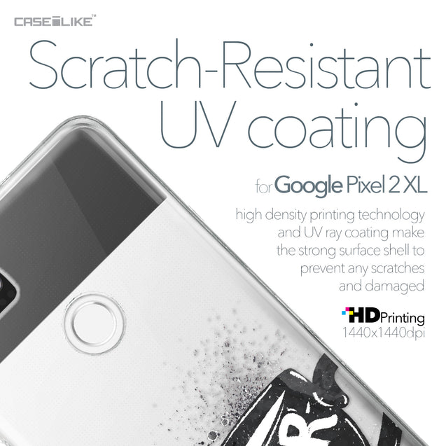 Google Pixel 2 XL case Quote 2402 with UV-Coating Scratch-Resistant Case | CASEiLIKE.com