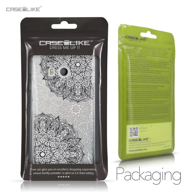 HTC U11 case Mandala Art 2093 Retail Packaging | CASEiLIKE.com