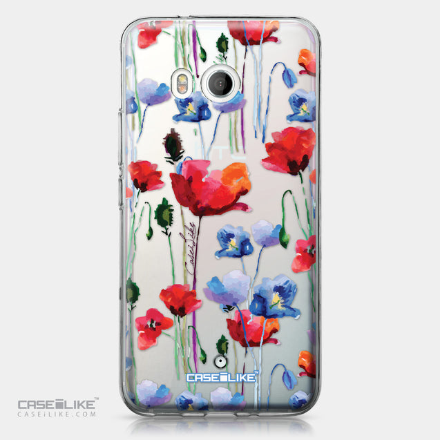 HTC U11 case Watercolor Floral 2234 | CASEiLIKE.com