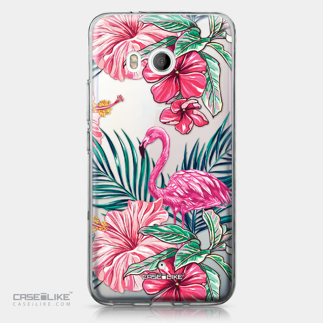 HTC U11 case Tropical Flamingo 2239 | CASEiLIKE.com