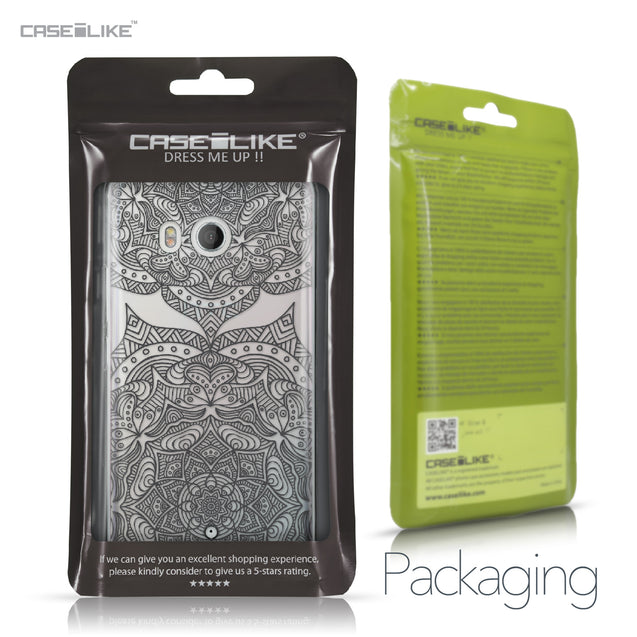 HTC U11 case Mandala Art 2304 Retail Packaging | CASEiLIKE.com