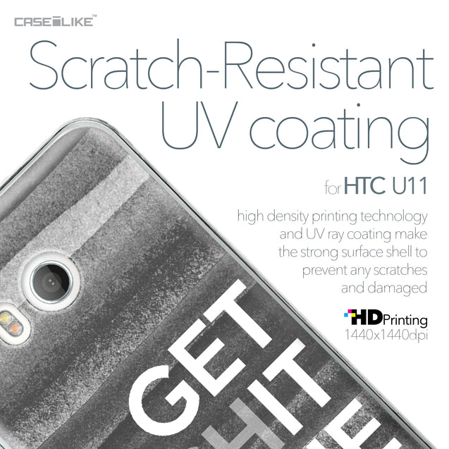 HTC U11 case Quote 2429 with UV-Coating Scratch-Resistant Case | CASEiLIKE.com