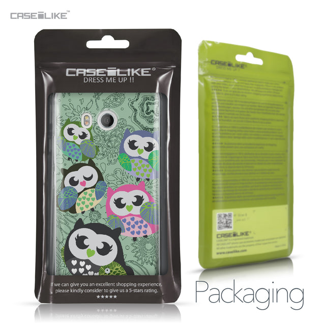 HTC U11 case Owl Graphic Design 3313 Retail Packaging | CASEiLIKE.com