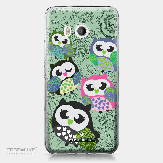 HTC U11 case Owl Graphic Design 3313 | CASEiLIKE.com