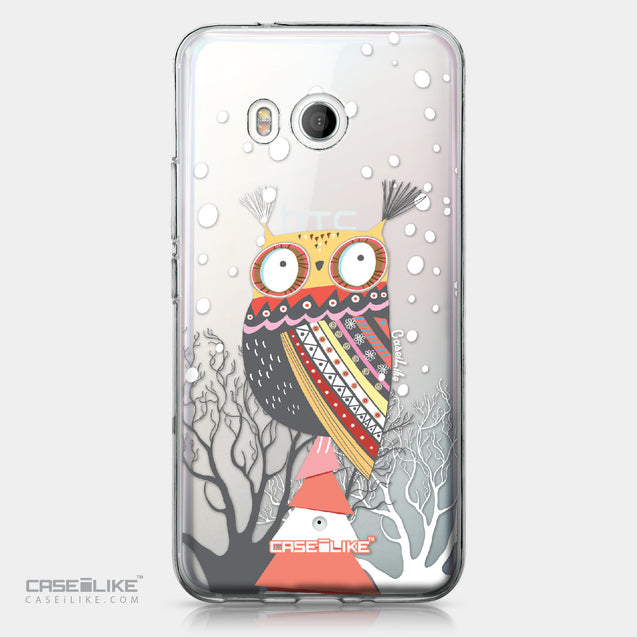 HTC U11 case Owl Graphic Design 3317 | CASEiLIKE.com