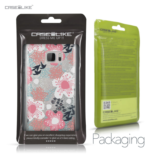 HTC U Ultra case Japanese Floral 2255 Retail Packaging | CASEiLIKE.com