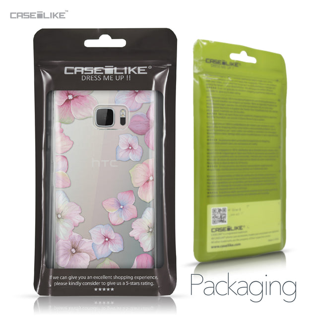 HTC U Ultra case Hydrangea 2257 Retail Packaging | CASEiLIKE.com