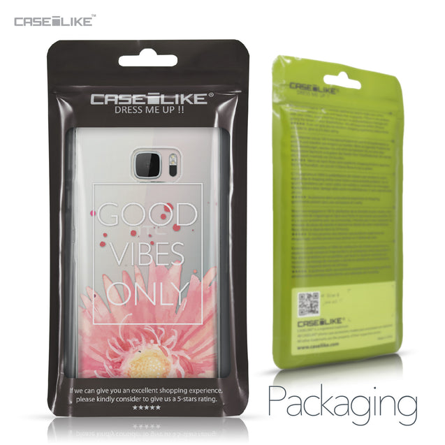 HTC U Ultra case Gerbera 2258 Retail Packaging | CASEiLIKE.com