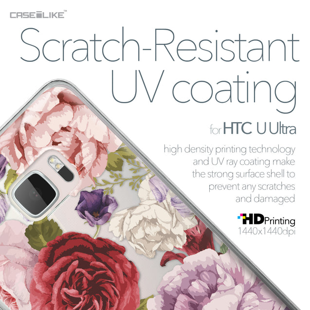 HTC U Ultra case Mixed Roses 2259 with UV-Coating Scratch-Resistant Case | CASEiLIKE.com