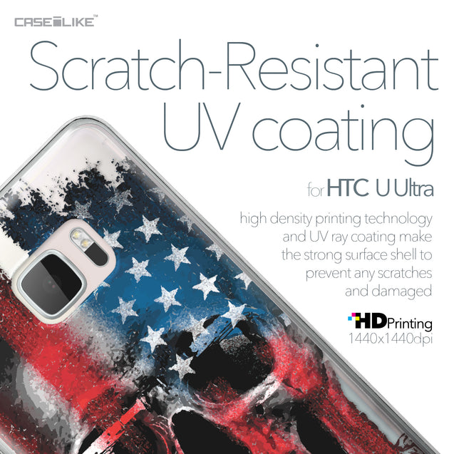 HTC U Ultra case Art of Skull 2532 with UV-Coating Scratch-Resistant Case | CASEiLIKE.com