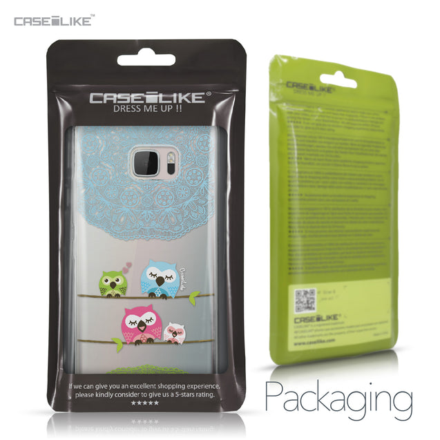 HTC U Ultra case Owl Graphic Design 3318 Retail Packaging | CASEiLIKE.com
