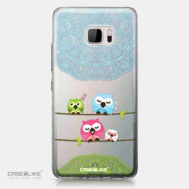 HTC U Ultra case Owl Graphic Design 3318 | CASEiLIKE.com