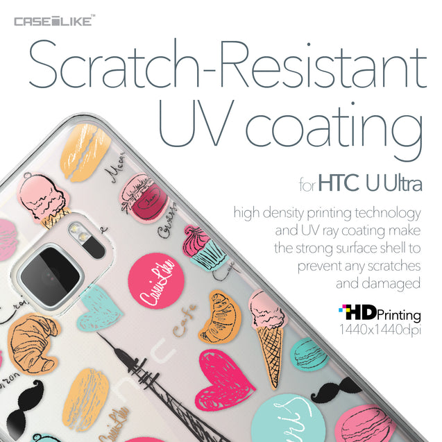 HTC U Ultra case Paris Holiday 3904 with UV-Coating Scratch-Resistant Case | CASEiLIKE.com