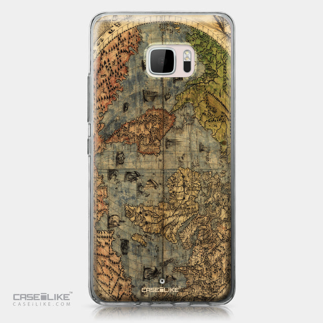 HTC U Ultra case World Map Vintage 4608 | CASEiLIKE.com