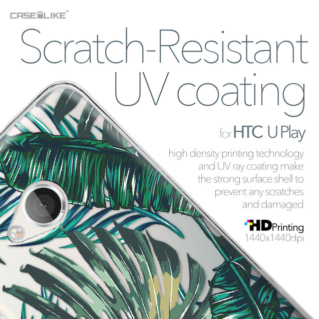 HTC U Play case Tropical Palm Tree 2238 with UV-Coating Scratch-Resistant Case | CASEiLIKE.com