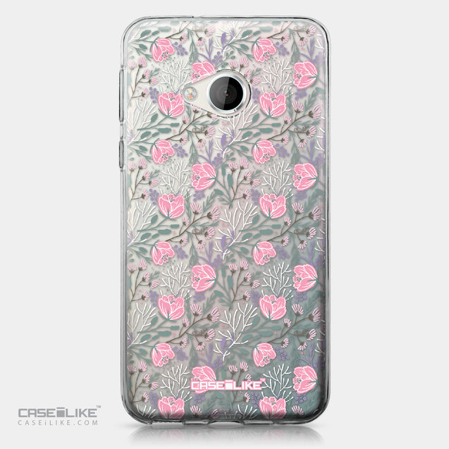 HTC U Play case Flowers Herbs 2246 | CASEiLIKE.com