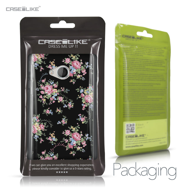 HTC U Play case Floral Rose Classic 2261 Retail Packaging | CASEiLIKE.com
