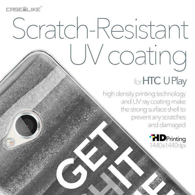 HTC U Play case Quote 2429 with UV-Coating Scratch-Resistant Case | CASEiLIKE.com